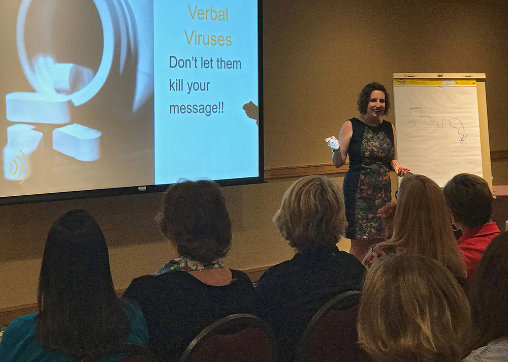 improve your career with speech and voice training from Liz Peterson