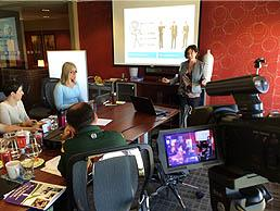 On site media training services by Liz Peterson
