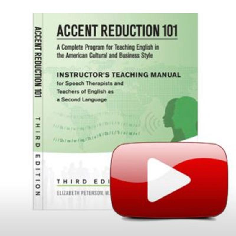accent reduction book and 9 cd bundle for teachers